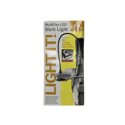 Light It! Multiflex LED Work Light