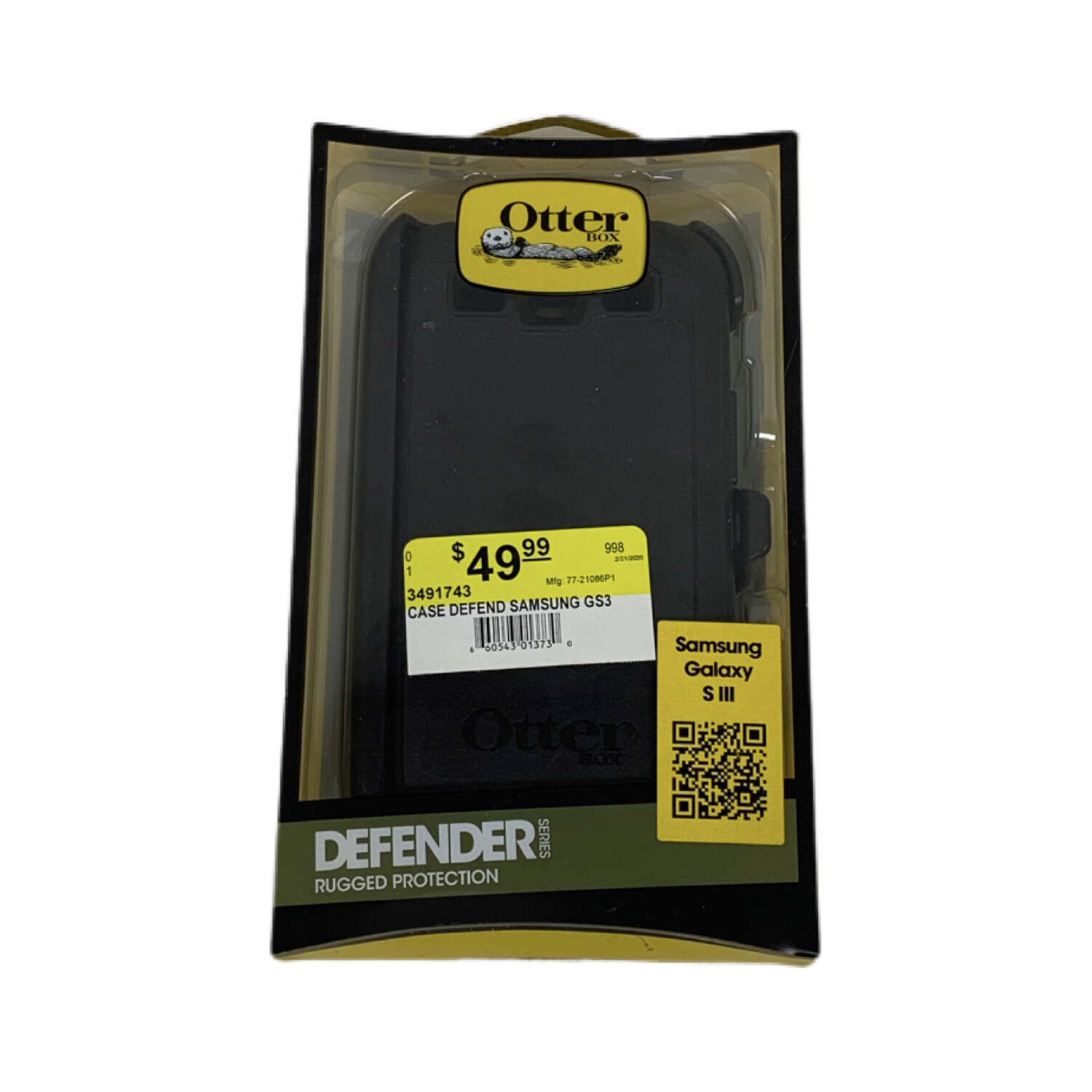Otter Box Samsung Galaxy S 3 Defender Case
