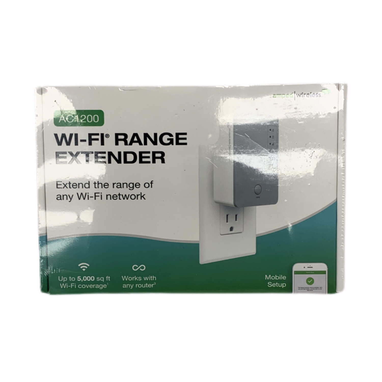 Amped Wireless Wi-Fi Range Extender AC1200