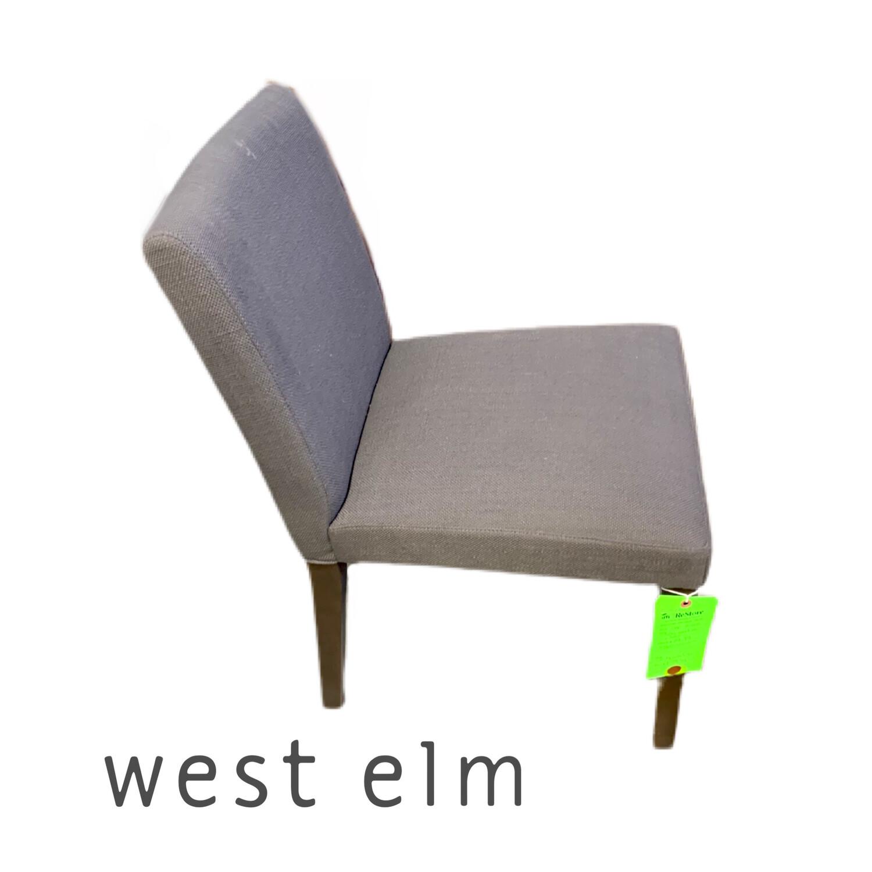 Grey West Elm Chair