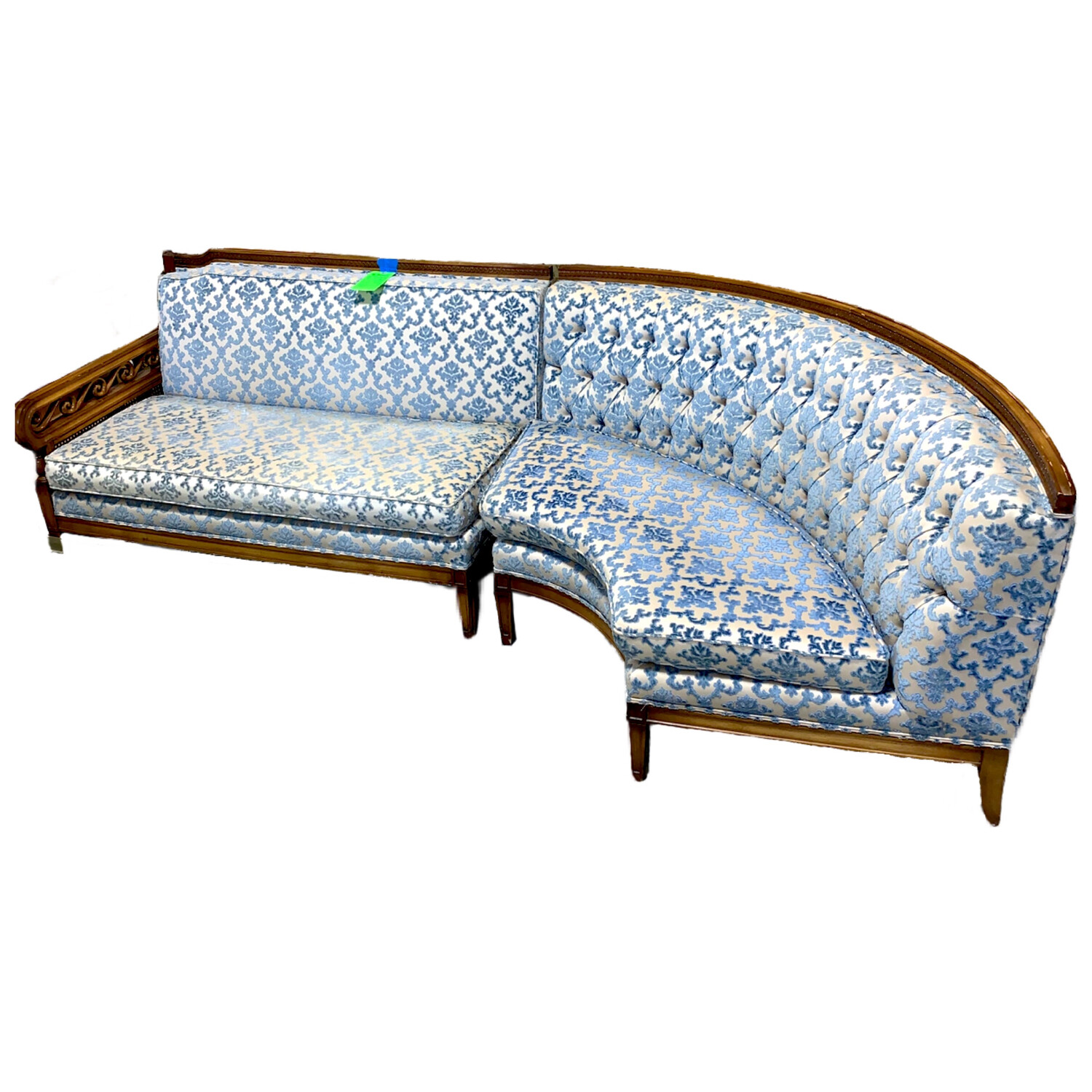 Vintage French Style Sectional