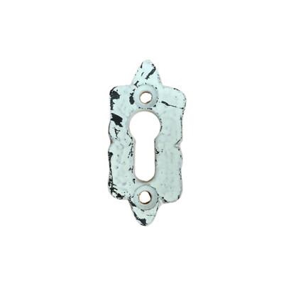 White Decorative Key Hole 5B