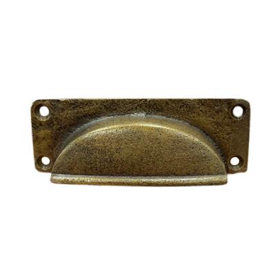 Antique Brass Drawer Pull 12C