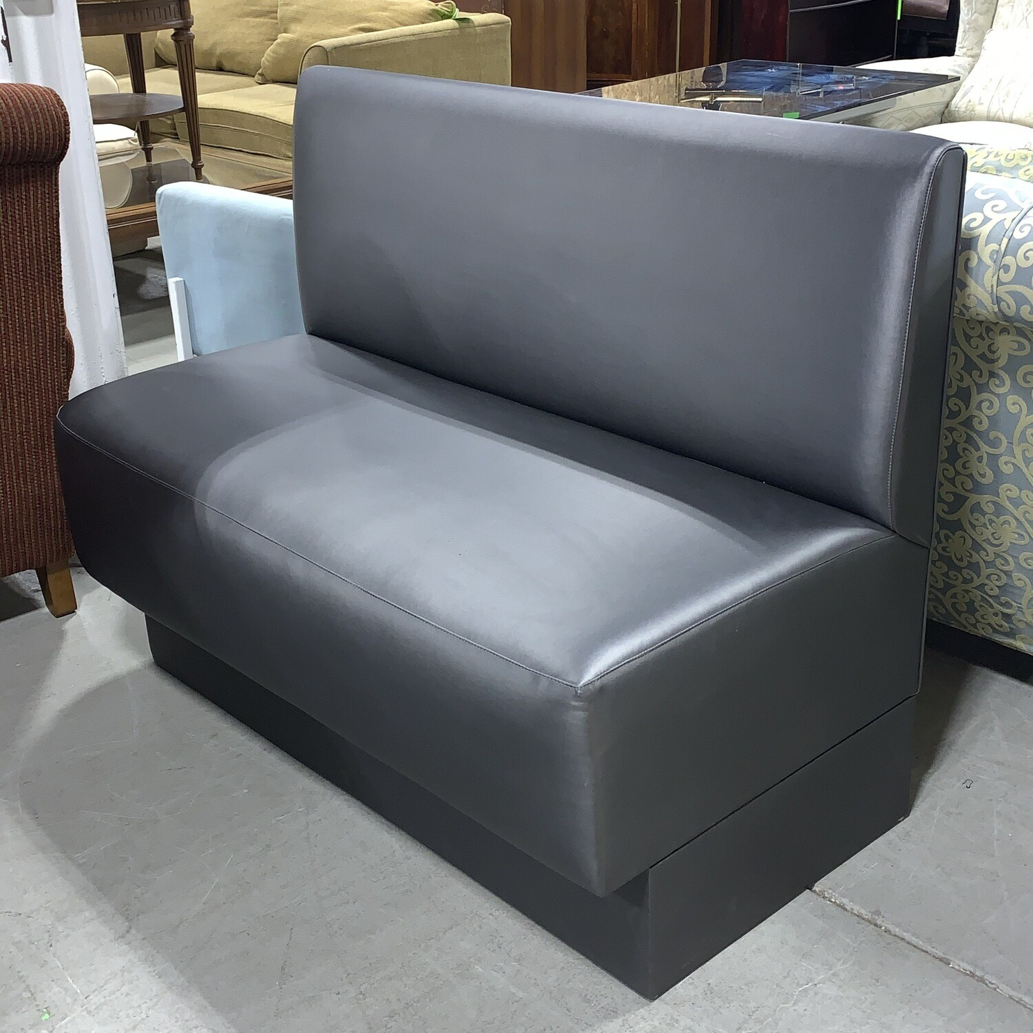 Charcoal Grey Bench