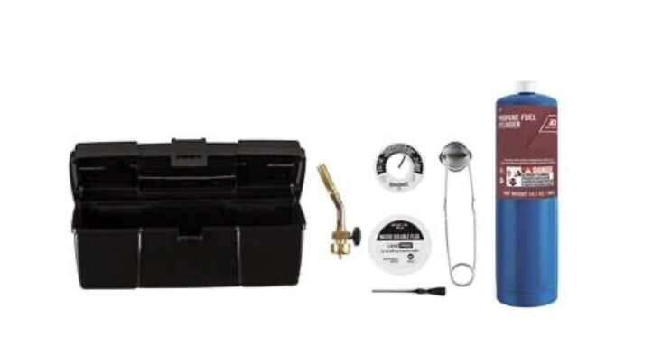7 Pc Propane Torch Kit