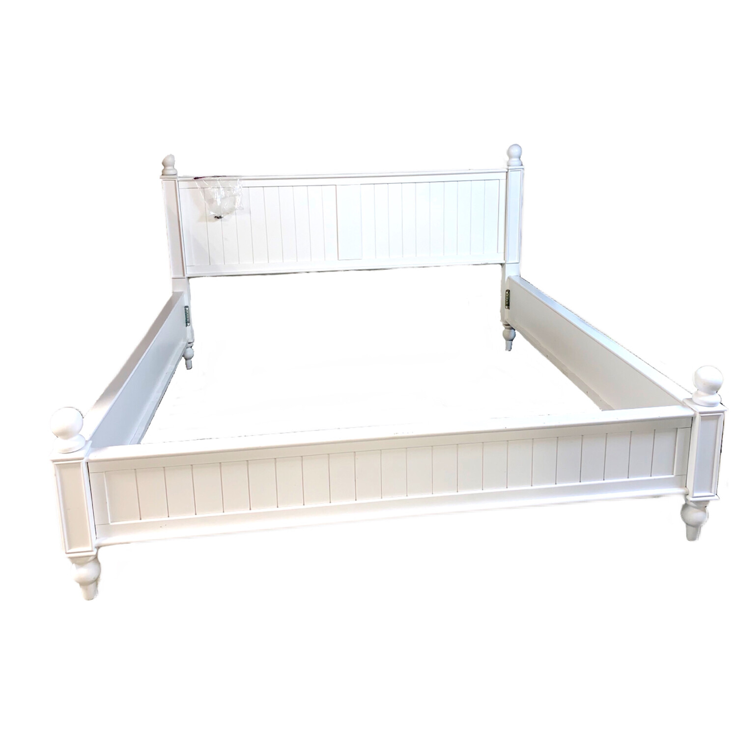 White King Bedframe