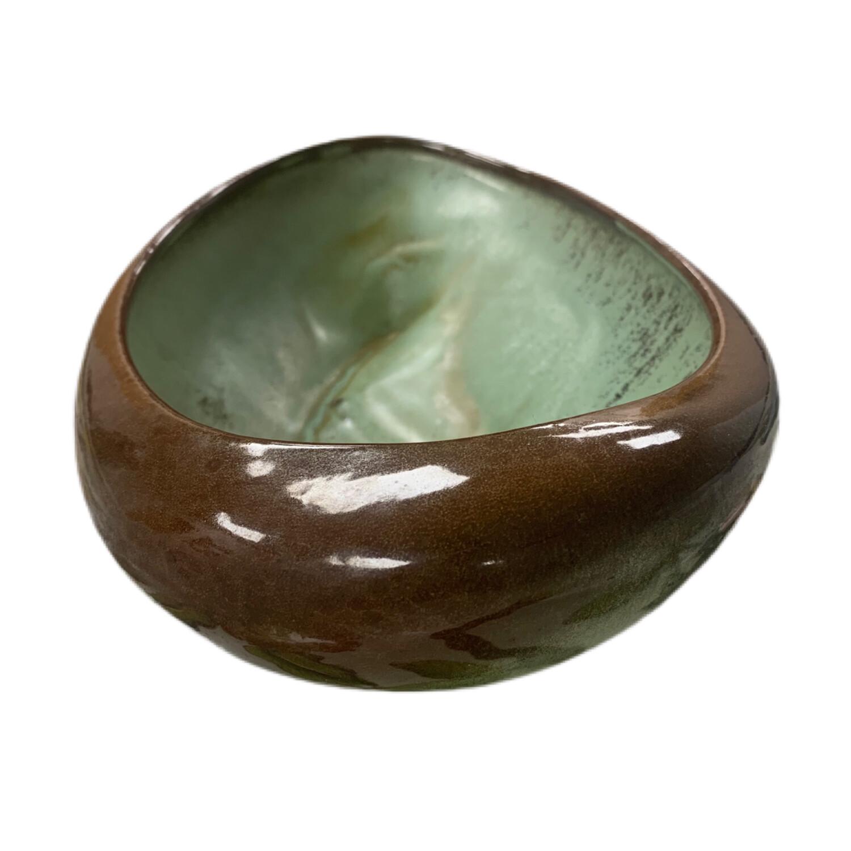Frankoma Oval Pottery Bowl 231