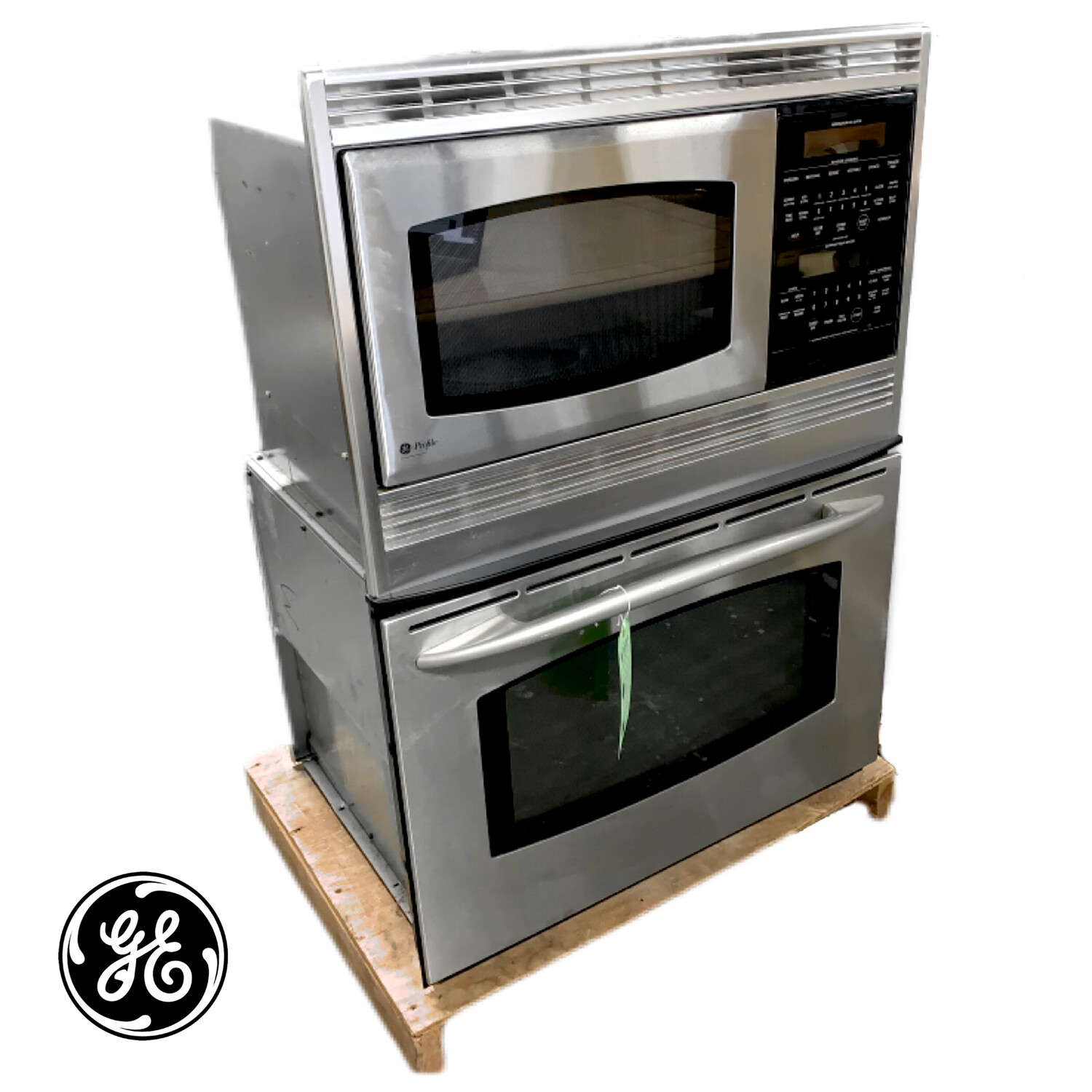 GE Profile Electric Wall Oven & Microwave