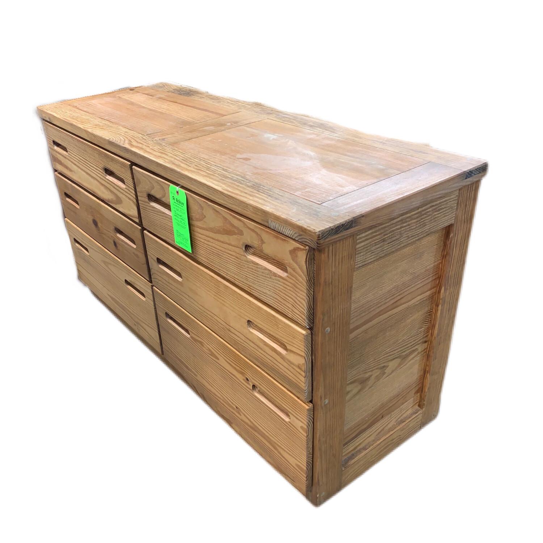 6 Drawer Wooden Dresser
