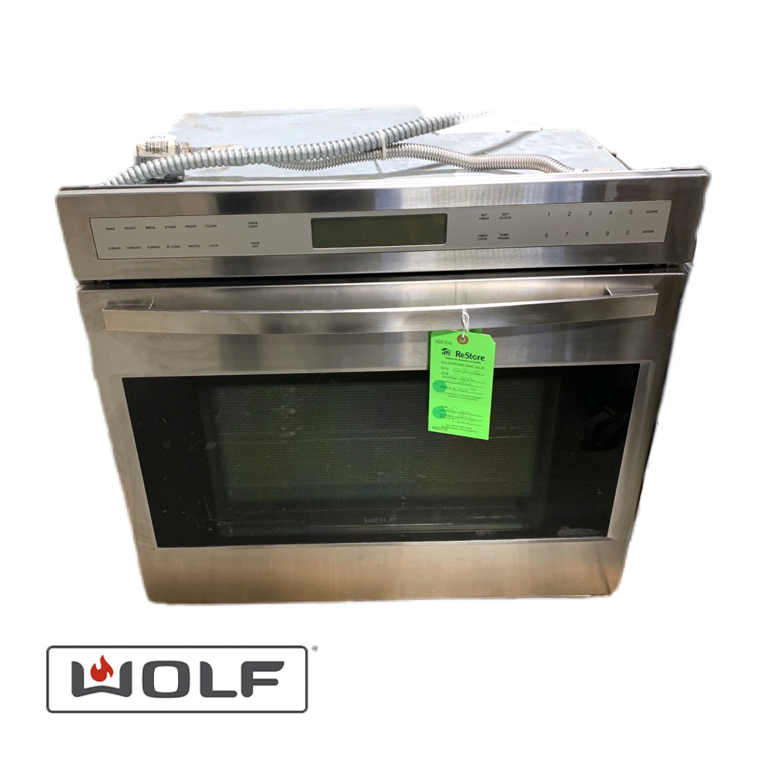 Wolf Gas Wall Oven