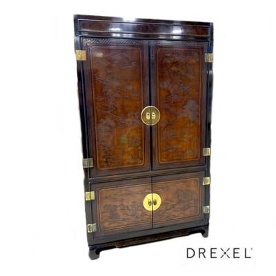 Drexel Heritage Illuminated Bar Connoisseur  Cabinet