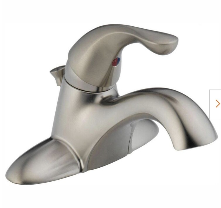 Delta 520-SSPPU-DST Center Set Bathroom Faucet