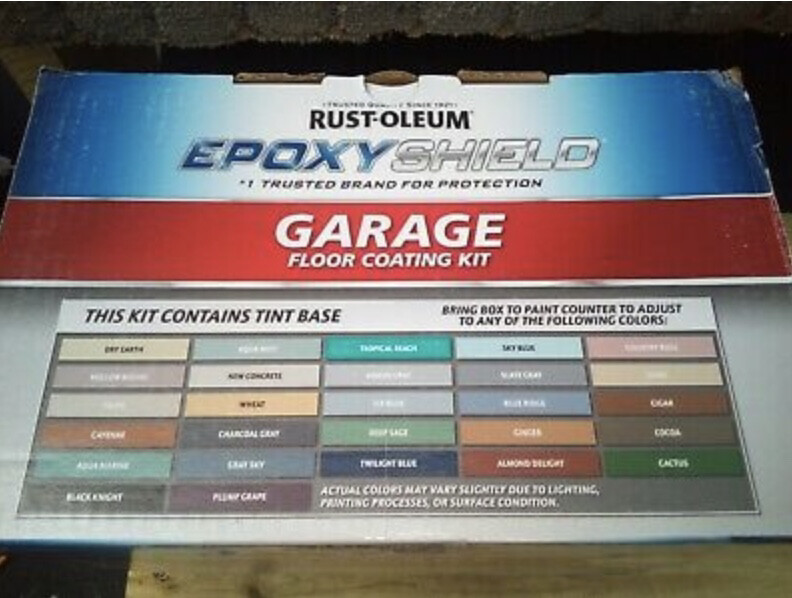 Rust-Oleum Epoxy Shield Garage Floor Coating Kit