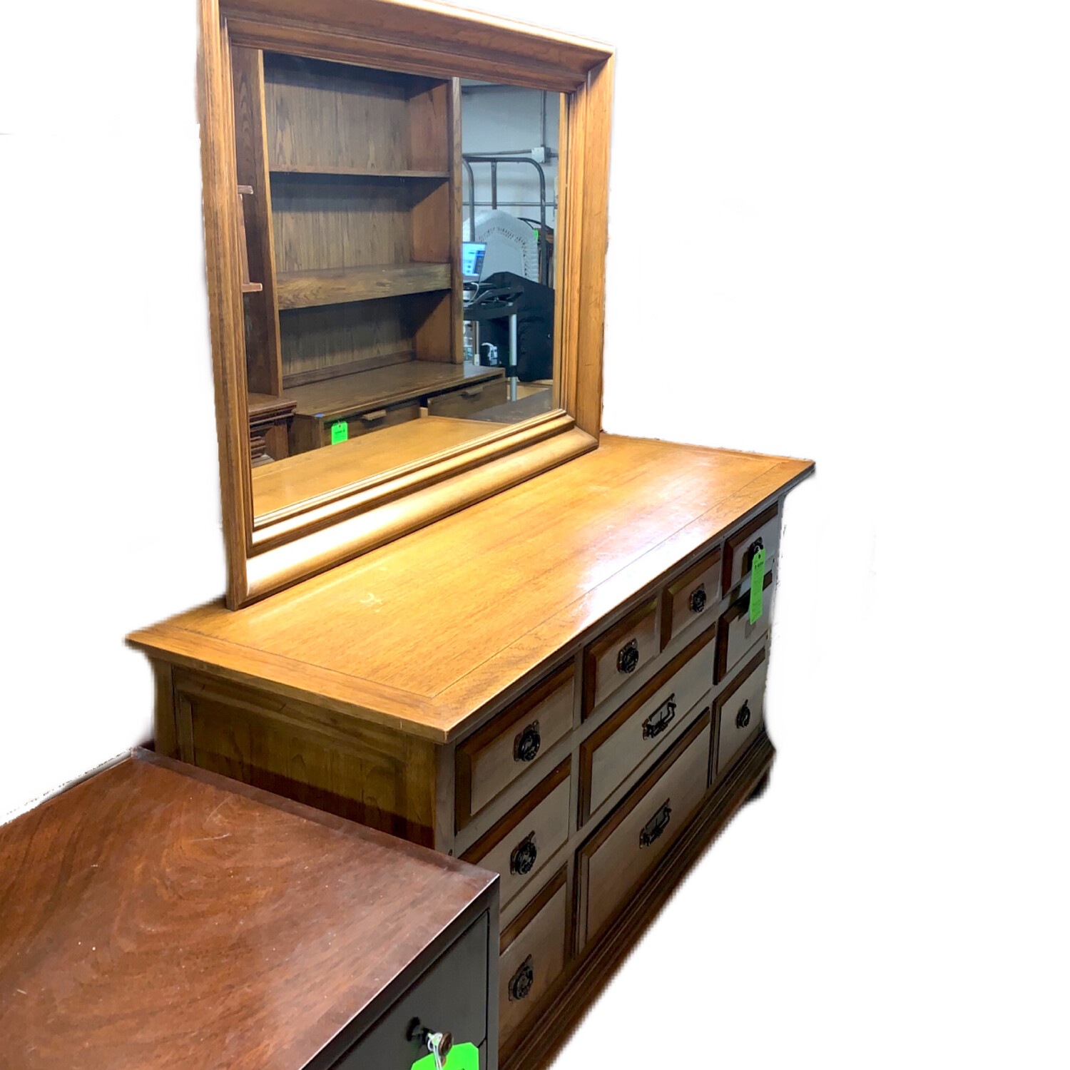 Chest of Drawers With O/S Mirror