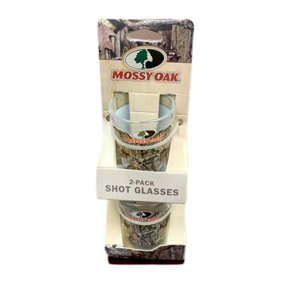 Mossy Oak 2 Pack Shot Glasses (Green)