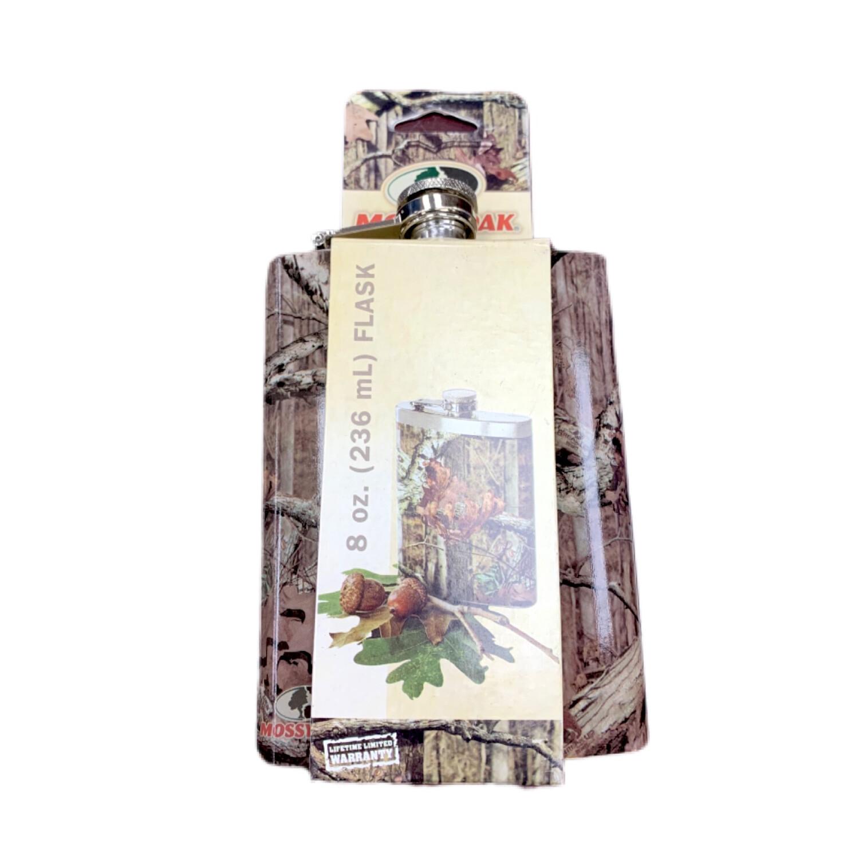 Mossy Oak 8 Oz Flask