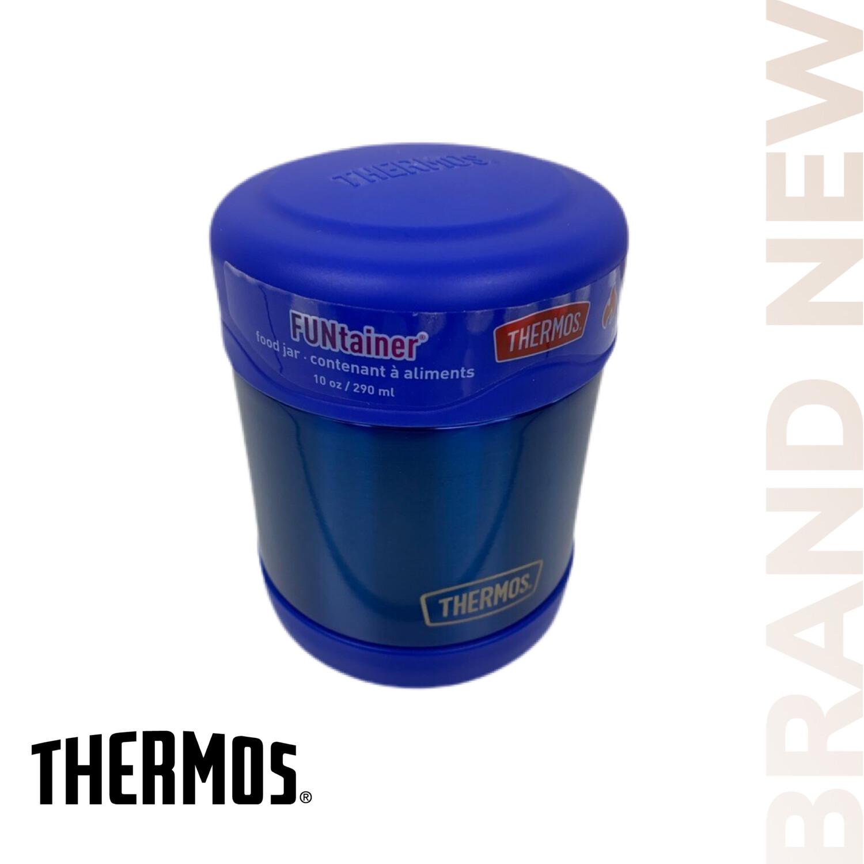 Blue 10 Oz Thermos Food Jar