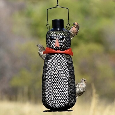 The Dapper Penguin Mesh Bird Feeder