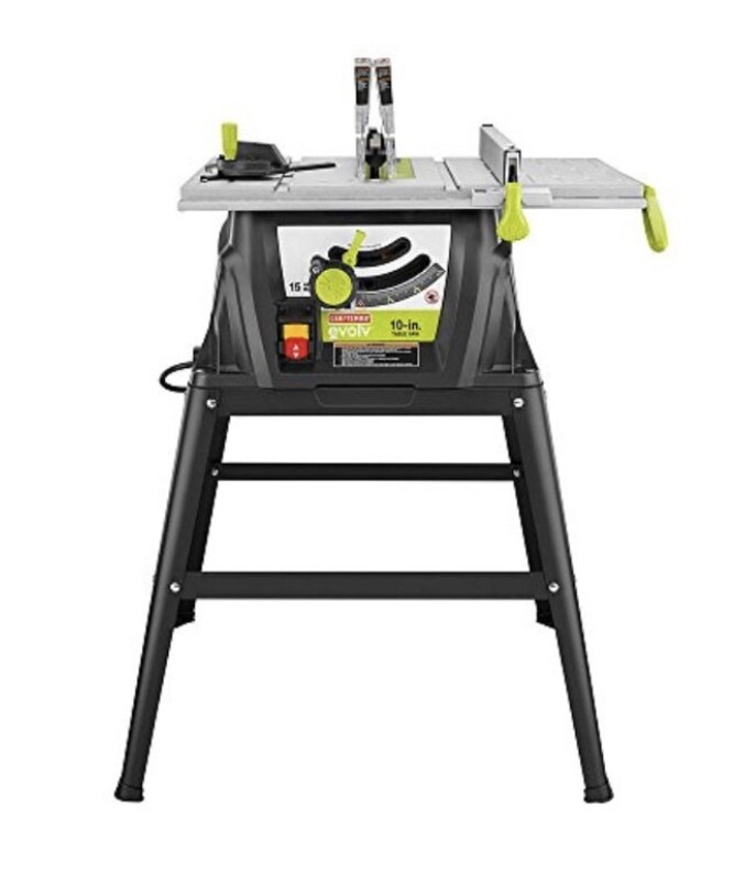 "Craftsman Evolv 15 amp 10"" Table Saw"