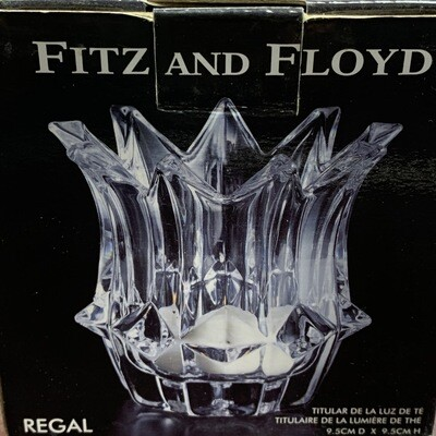 Fitz & Floyd Regal Votive Tea Light Holder
