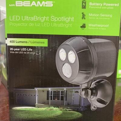 Mr. Beams LED Ultra Bright Spotlight(Black)