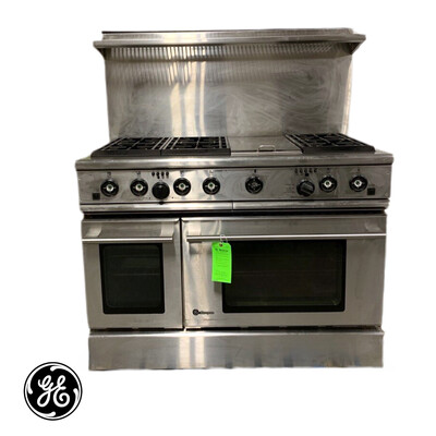 GE Gas Oven & Vent