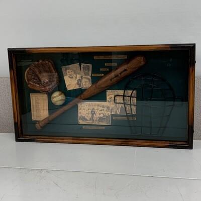 The History OF Baseball Shadow Box 2