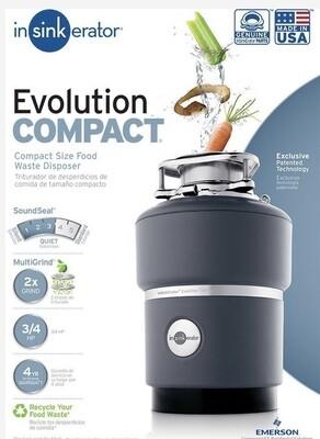 Insinkerator Evolution Compact Food Waste Disposer