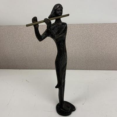 Bronze Flute Player