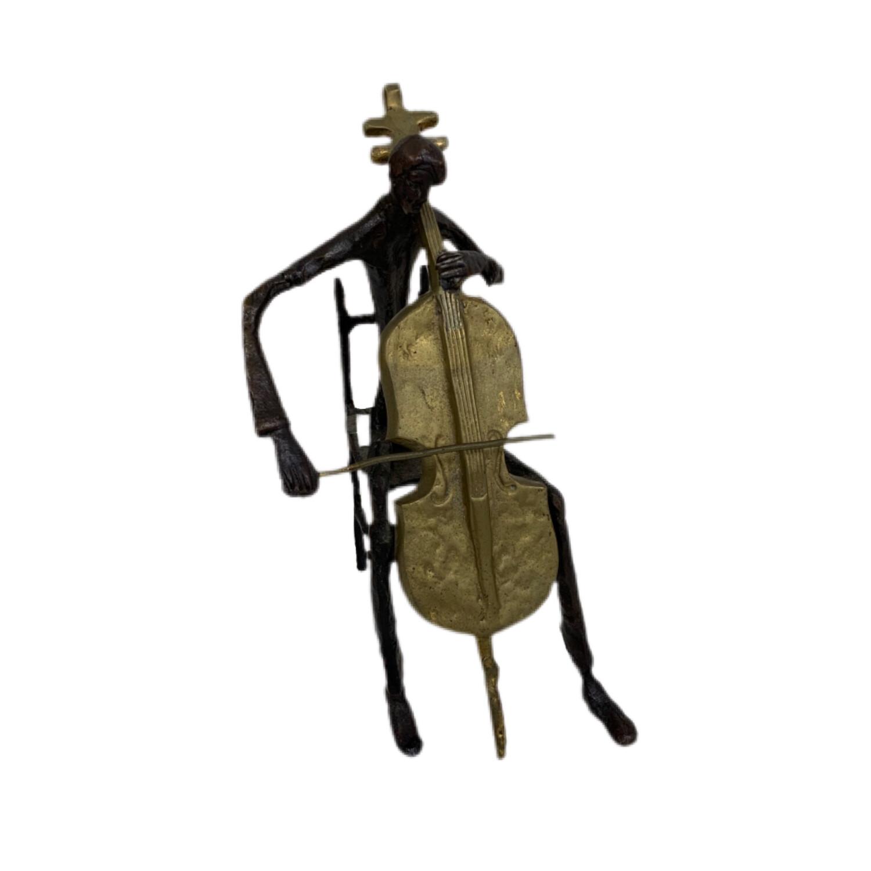 Bronze   Cellist