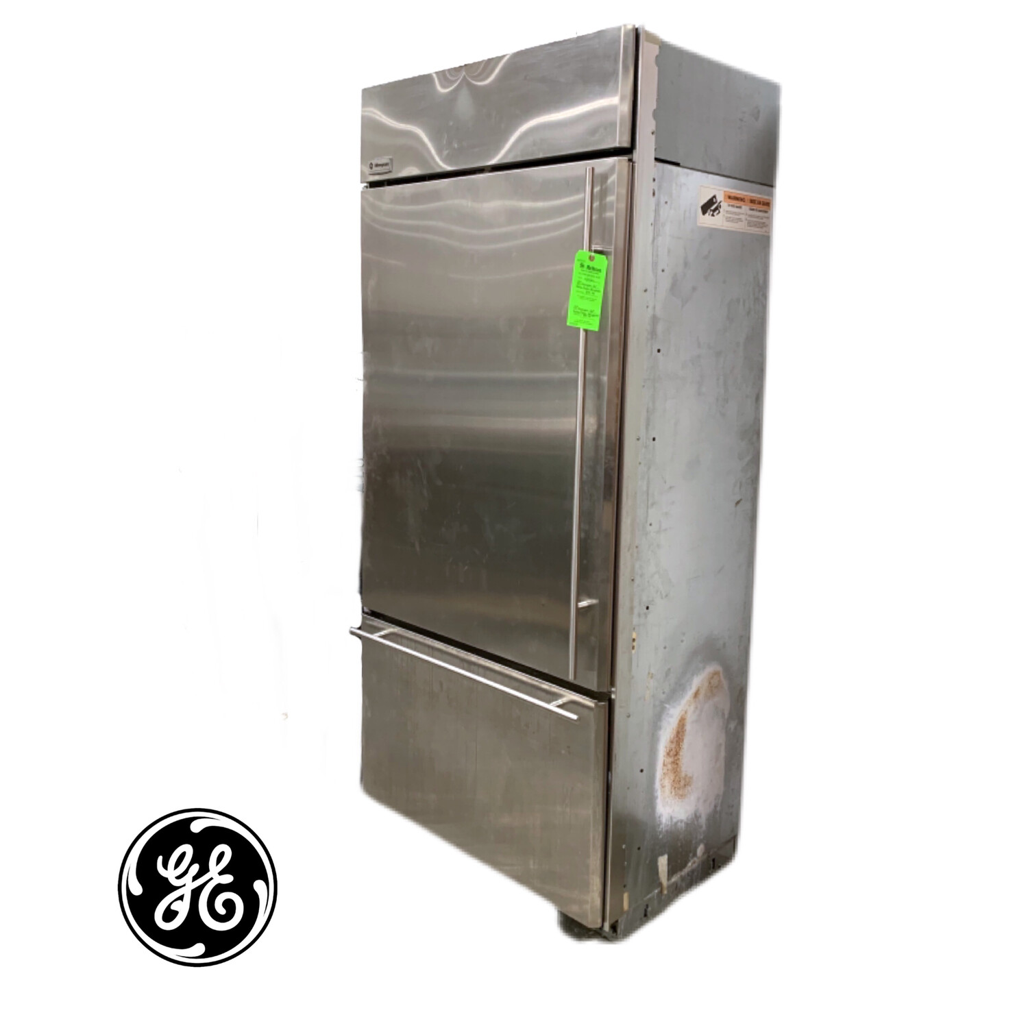 "GE Monogram 36"" Bottom Freezer Refrigerator"