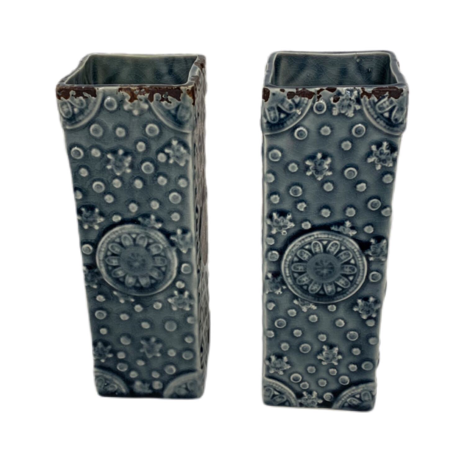 Pair OF PTMD Decorative  Vases