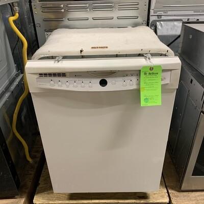 White Whirlpool Gold Dishwasher
