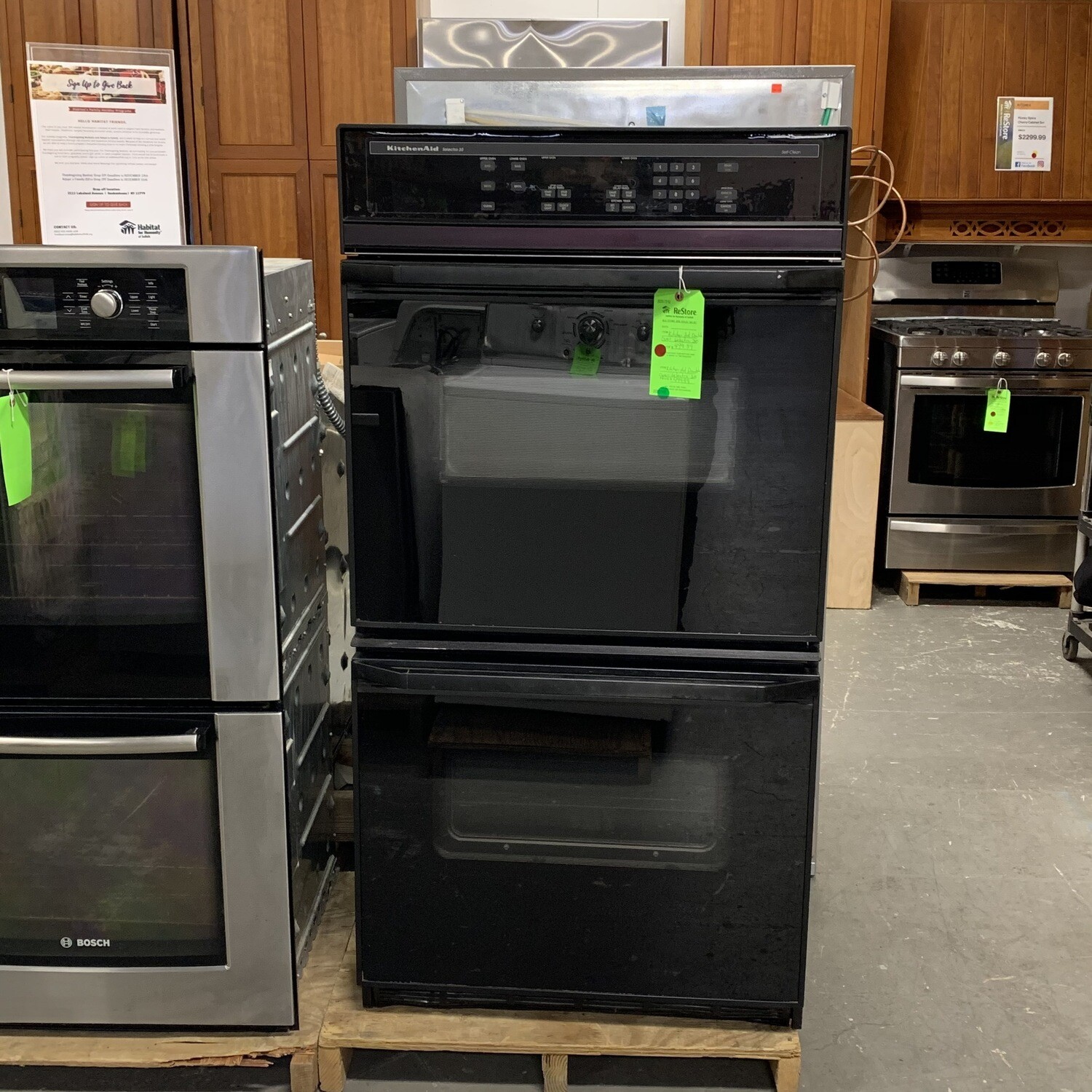 Kitchen Aid Double Oven Selectra 30