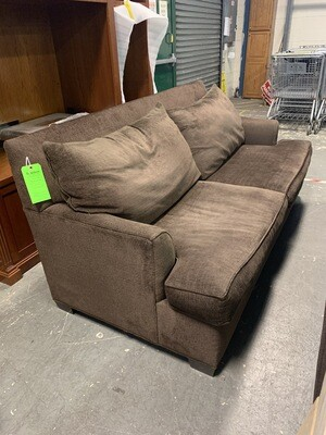 Brown Wide Couch