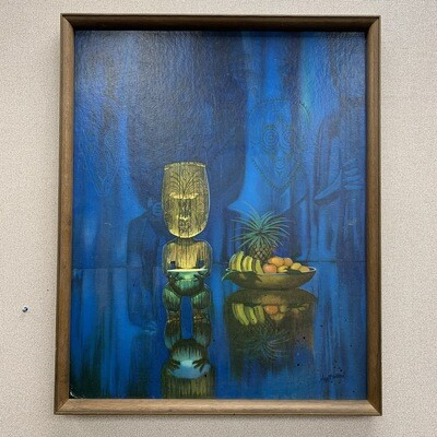 August Holland Framed