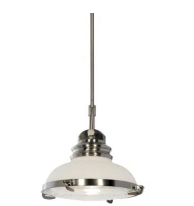 Miseno Lighting Nickel Pendant Light