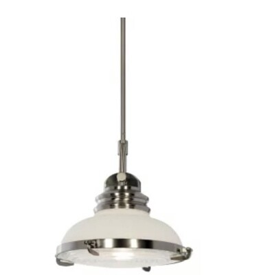 Miseno Lighting Nickel Pendant Light
