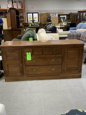 3 Draw Dresser With 2 Doors