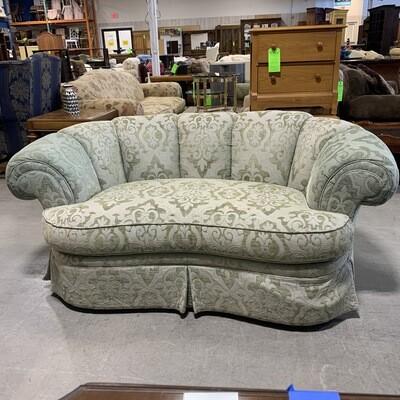 Blush Green Round Love Seat