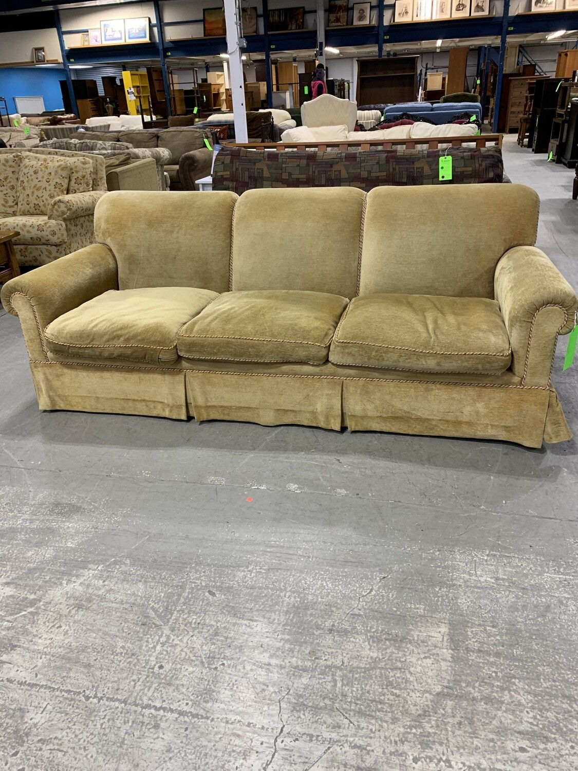 Gold Color Couch