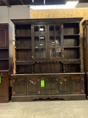 Dark Brown Hutch