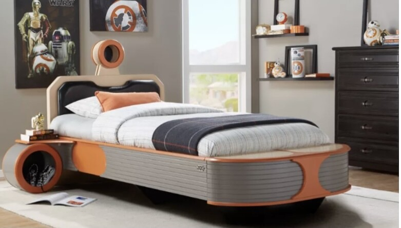Star Wars Twin Bed