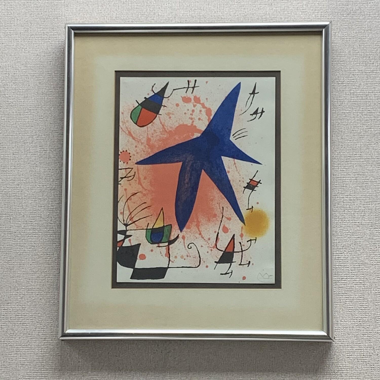 Original Framed  Joan Miro Lithograph