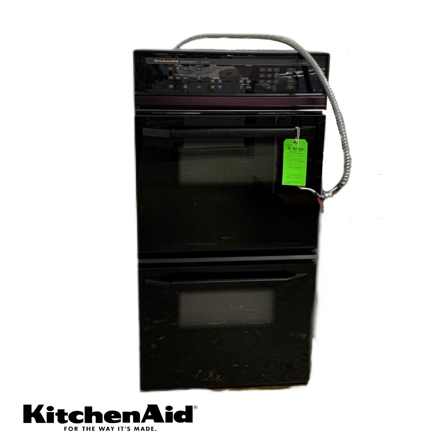 Kitchen Aid Wall Oven (Black)