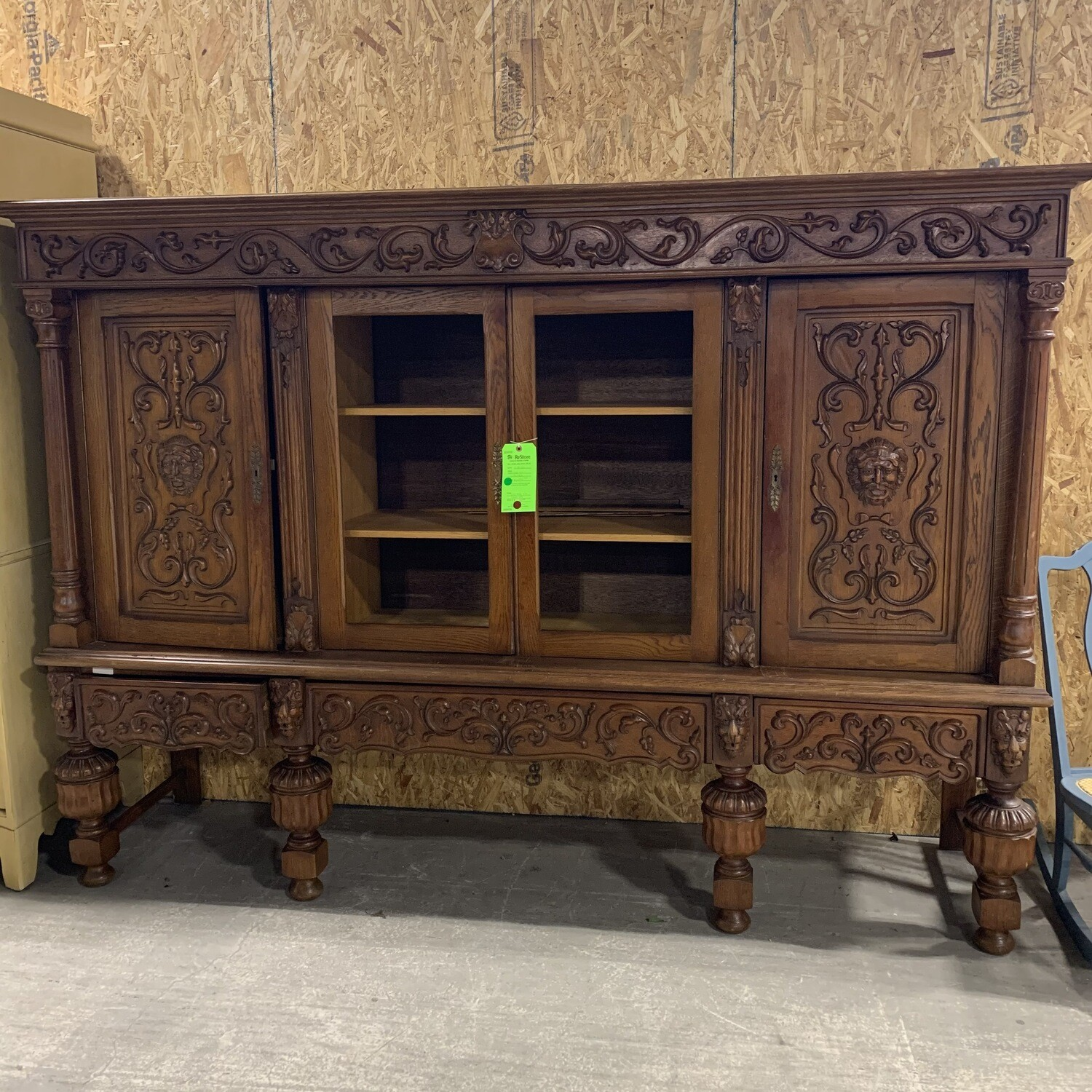 Carved XL Cabinet
