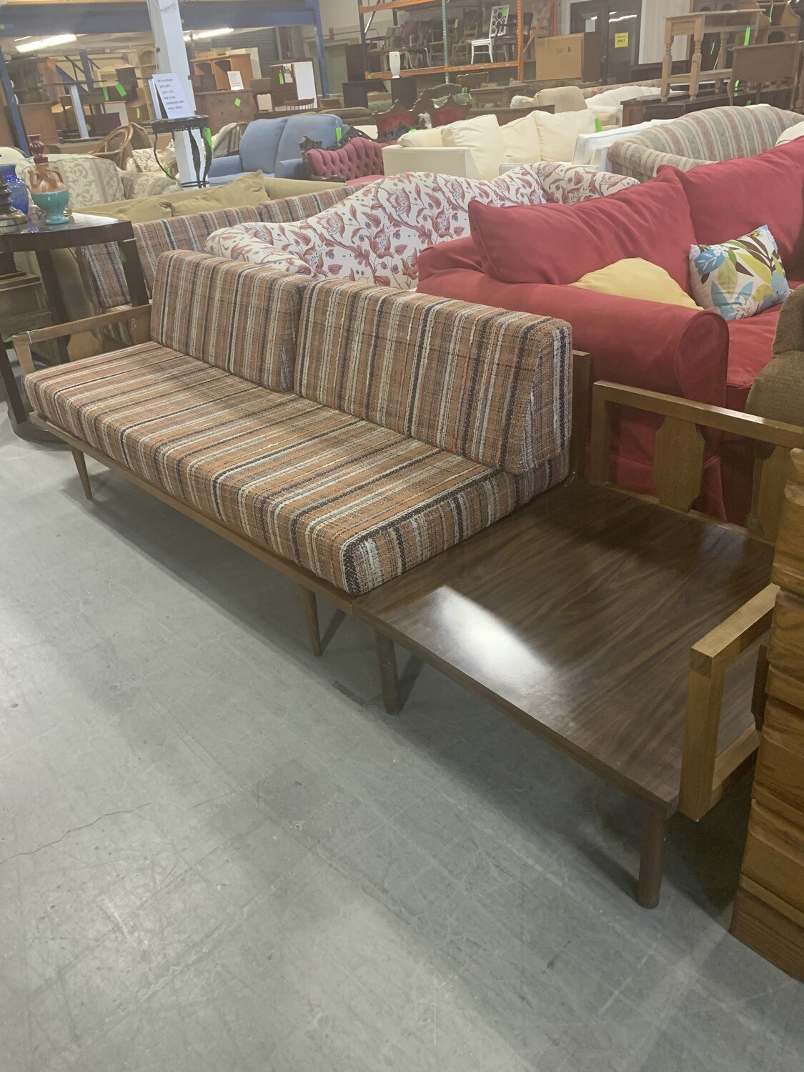Mid Century Modern 3 Pc Couch