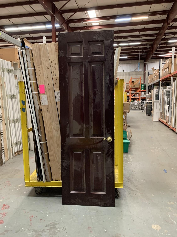 """Brown Interior Door 29 3/4"""" X 96"""""""