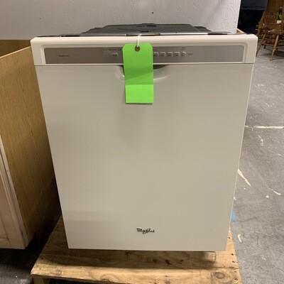 White Whirlpool Dishwasher