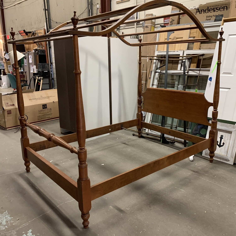 Wooden Canopy Bedframe